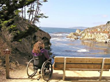 photo of the Pit Overlook at Point Lobos