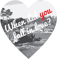 When did you fall in love?